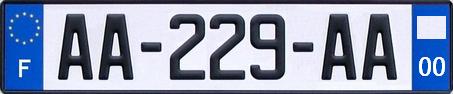neues franzoesisches autokennzeichen